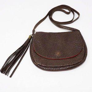 Aeropostale Faux Pebble Leather Shoulder Bag